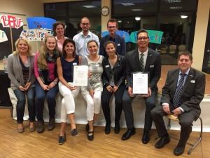 KSW 2015 Ehrung 5 Jahre Kooperation